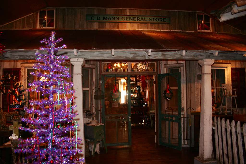 c d mann general store after we took it down and rebuilt it inside the christmas shop addition - The Christmas Shop